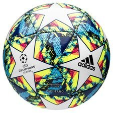 adidas Fotboll Champions League 2020 Finale Capitano - Vit/Turkos/Gul