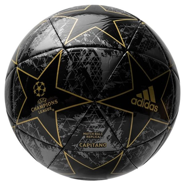 Adidas Football Champions League 2020 Finale Capitano Black Utility Black Iron Metal