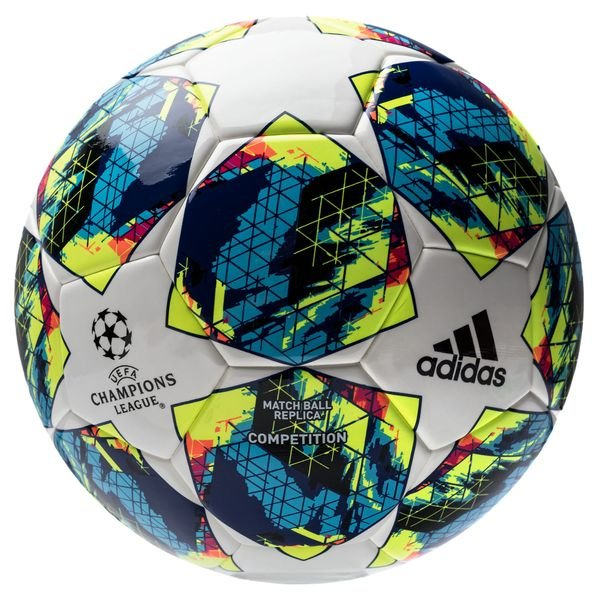 Adidas Fussball Champions League 2020 Finale Competition Weiss Turkis Gelb
