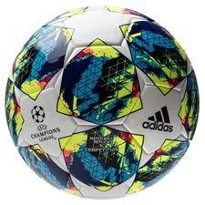 adidas Fußball Champions League 2020 Finale Competition - Weiß/Türkis/Gelb