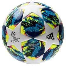 adidas Fotboll Champions League 2020 Finale Mini - Vit/Turkos/Gul
