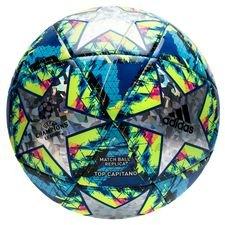 adidas Fotboll Champions League 2020 Finale Top Capitano - Multicolor/Turkos/Gul