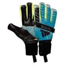 adidas Keepershandschoenen Predator Pro Fingersave Hard Wired - Turquoise/Zilver