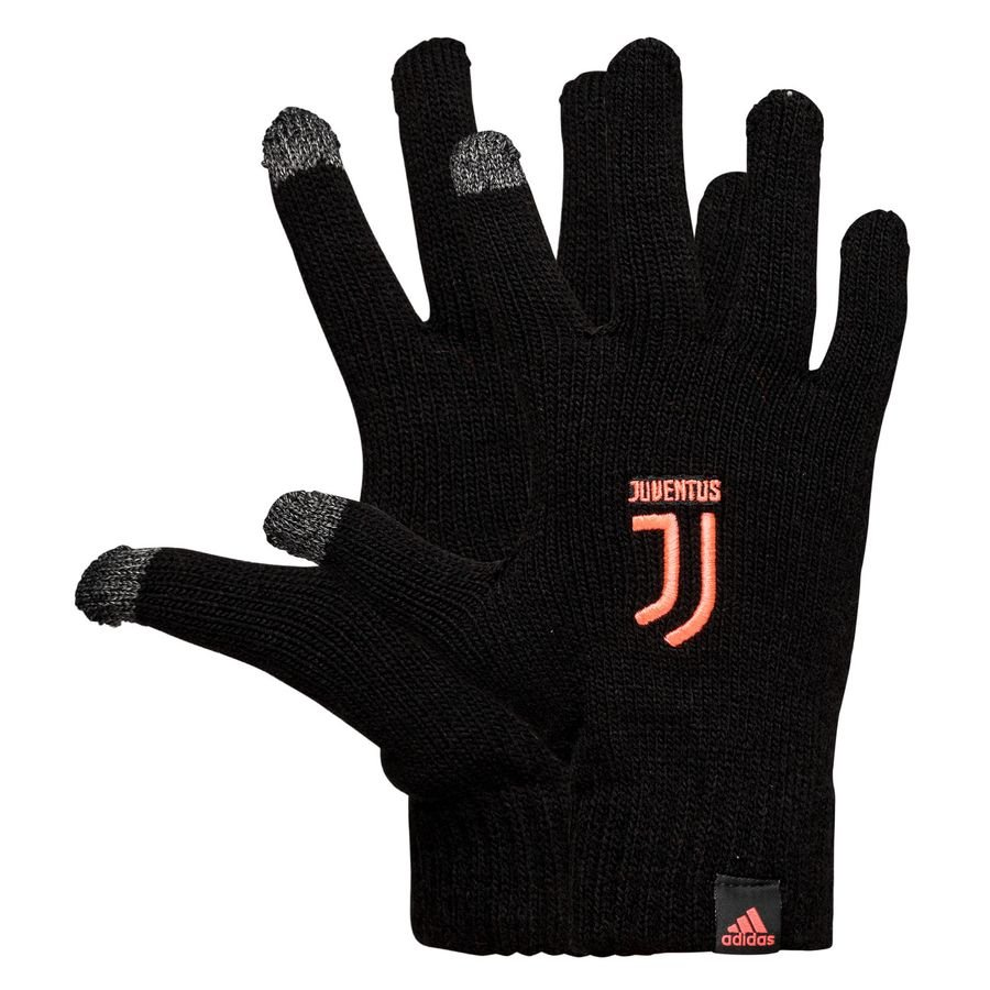 Juventus Strikhandsker - Sort thumbnail