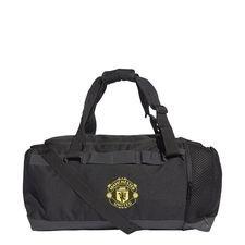 Manchester United Sportväska Duffel Medium - Svart/Gul