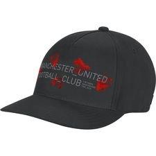 Manchester United Keps S16 - Svart/Röd