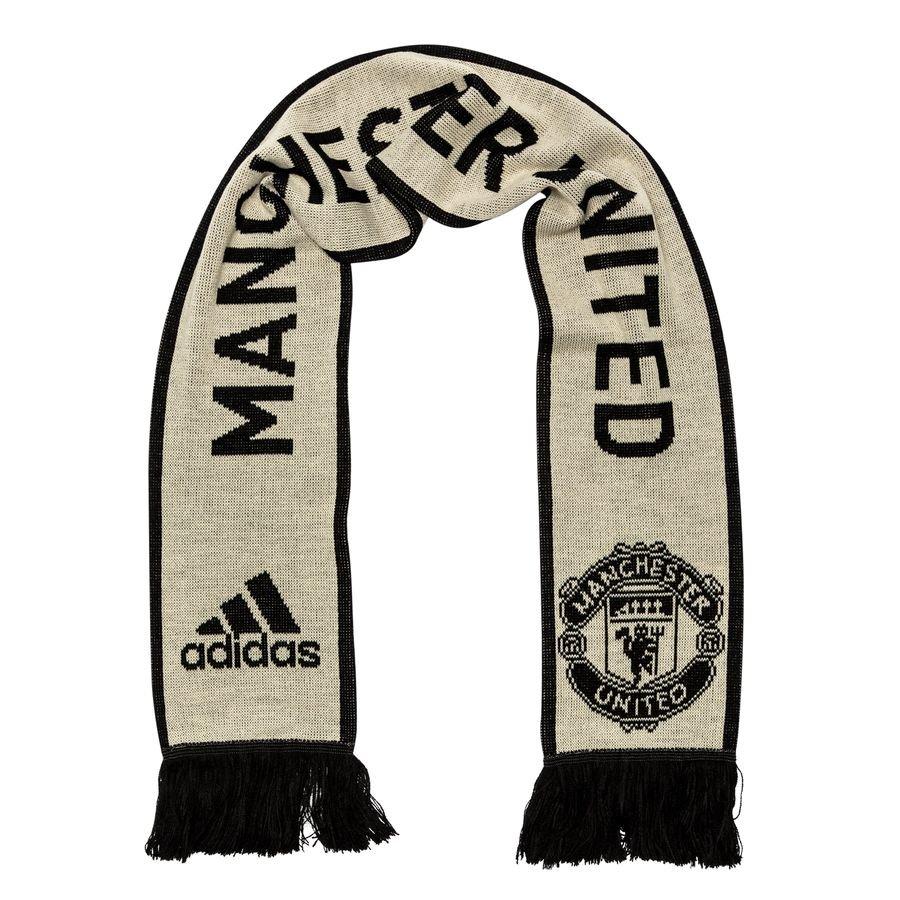 Manchester United Halstørklæde - Beige/Sort thumbnail