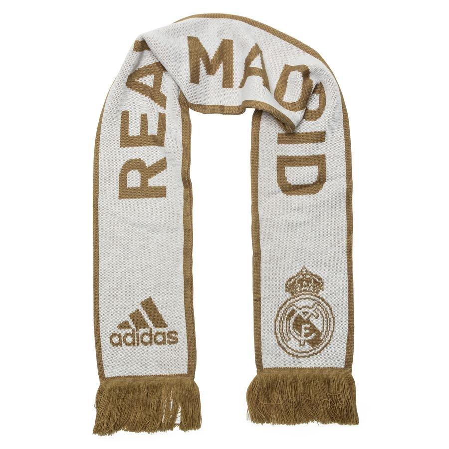 Real Madrid Halstørklæde - Hvid/Guld thumbnail