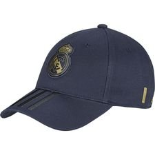Real Madrid Cap 3S - Navy/Schwarz/Gold