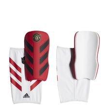 Manchester United Classic Benskydd - Röd/Röd/Vit