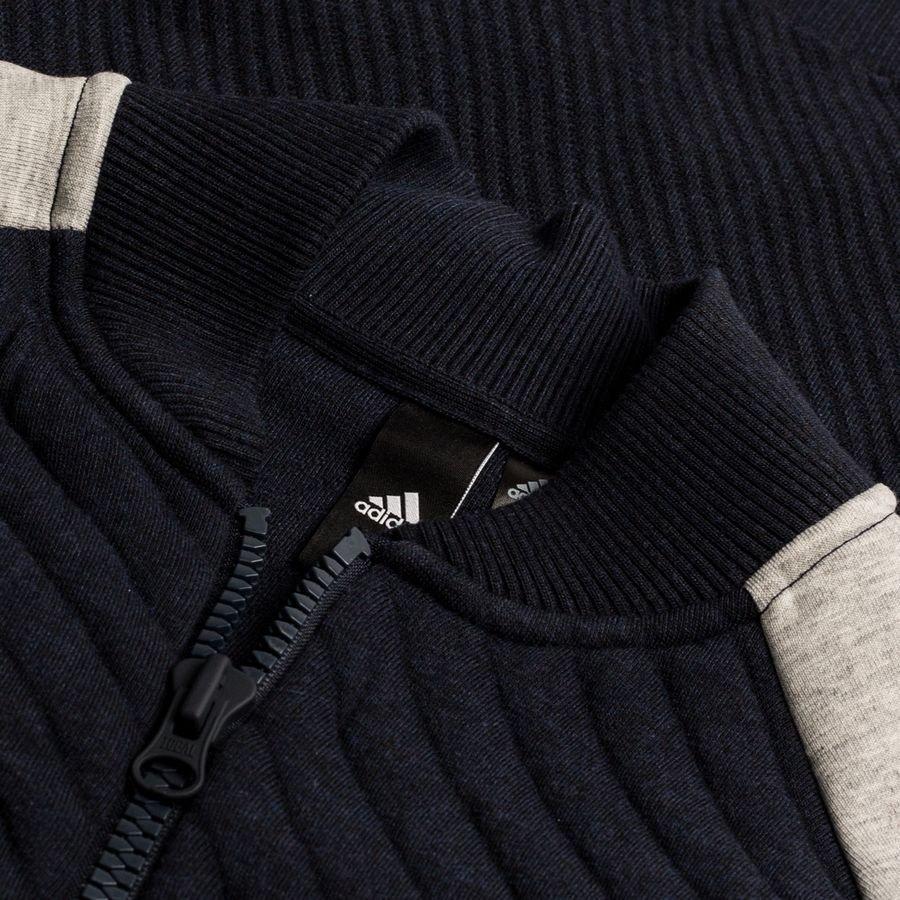adidas Jacke VRCT Primeknit Legend InkGrau | www