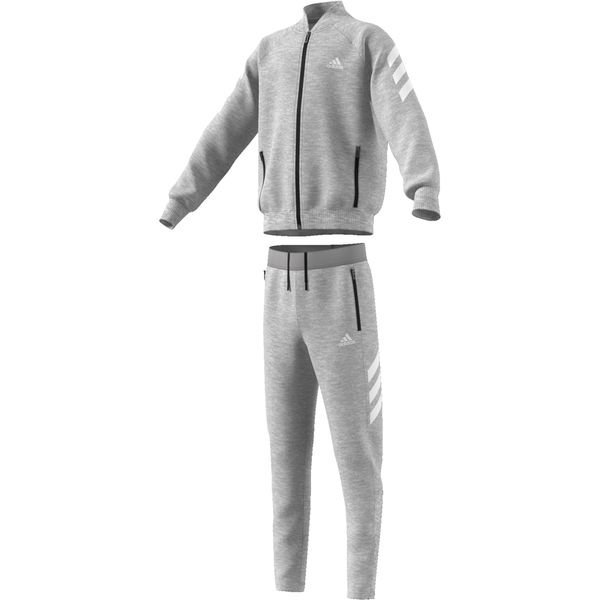 preview of buy best fashion adidas Tracksuit - Grey/White Kids