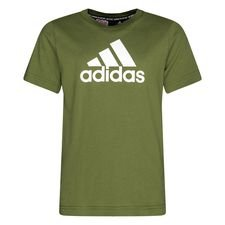 adidas T-Shirt Must Haves - Grün/Weiß Kinder