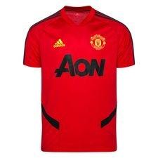 Manchester United Tränings T-Shirt - Röd/Grå