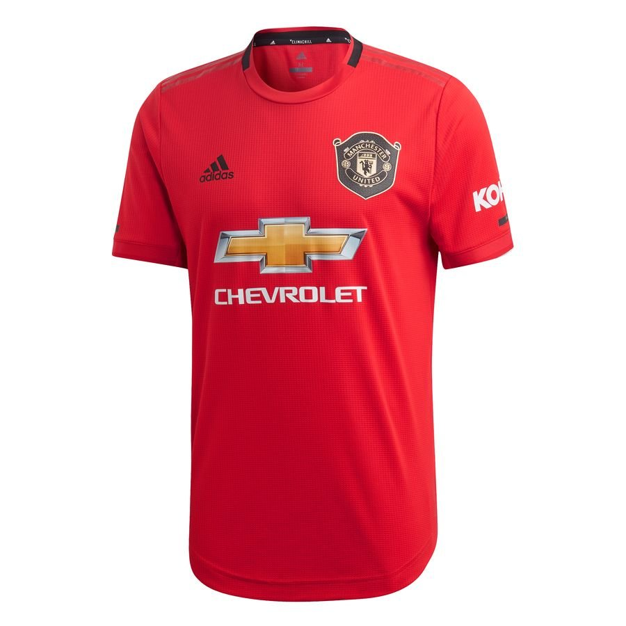 Manchester United Hjemmebanetrøje 2019/20 Authentic