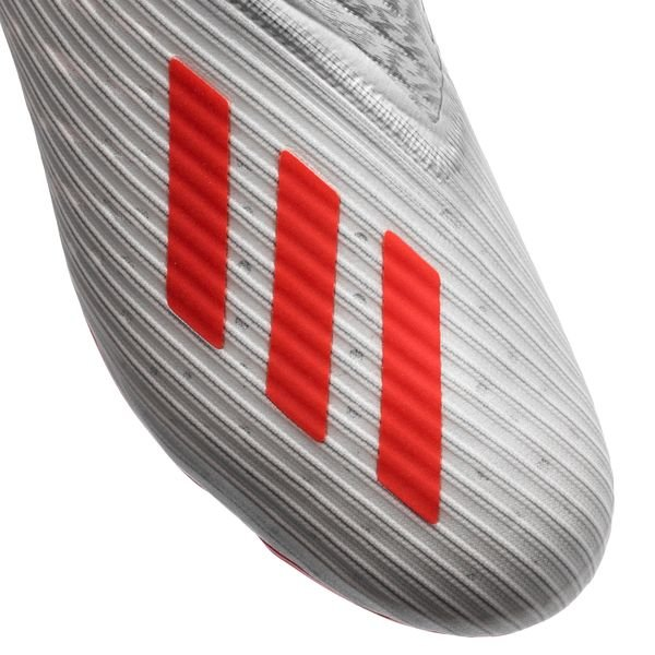 38b98903640 adidas X 19+ FG/AG 302 Redirect - Zilver/Rood/Wit Kinderen | www ...
