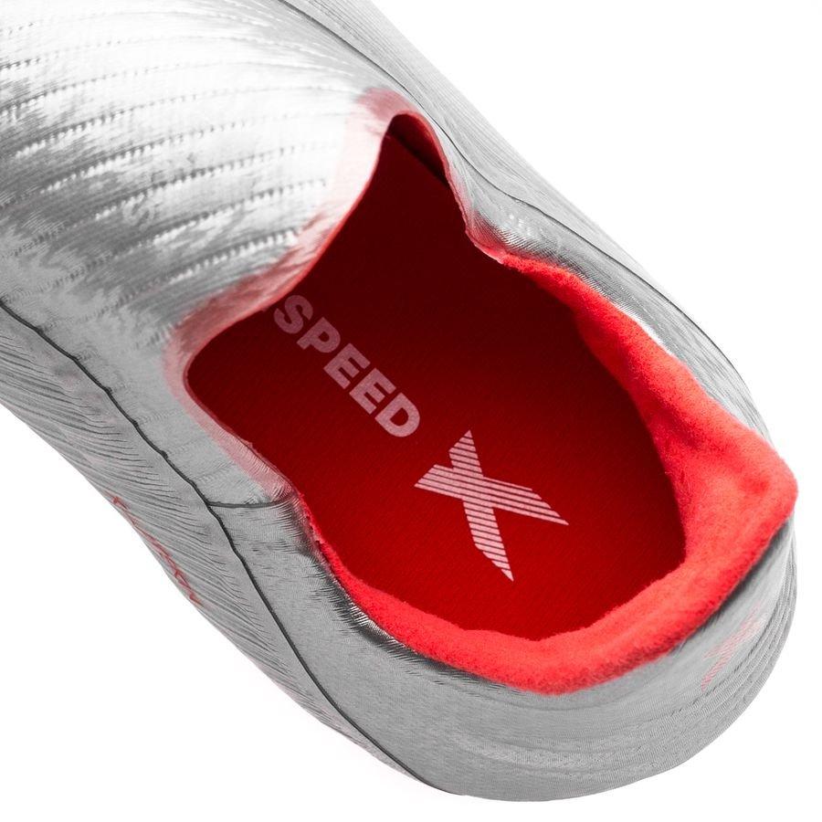 adidas X 19+ FGAG 302 Redirect SølvRødHvit Barn