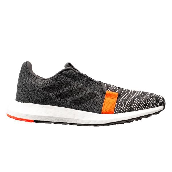 Go Sixnoirrouge De Senseboost Chaussures Enfant Running Grey Adidas EHYWI9D2