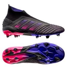 adidas Predator 19+ FG/AG Paul Pogba Season 6 - Sort/Pink LIMITED EDITION