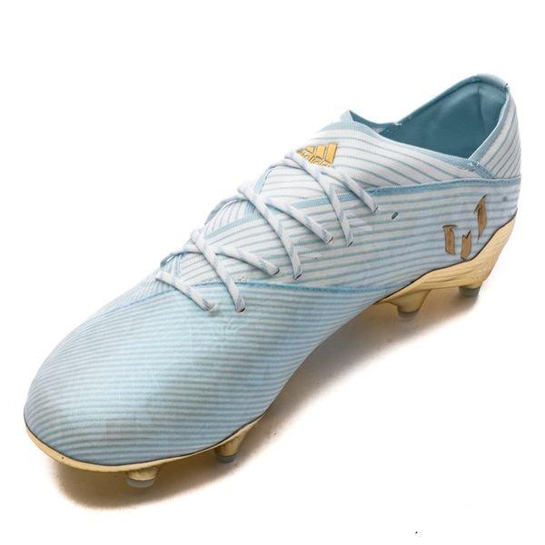adidas Nemeziz Messi 19.1 FGAG 15 Years TürkisGoldWeiß