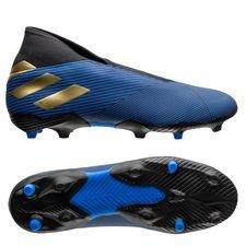adidas Nemeziz 19.3 FG/AG Laceless Inner Game - Bleu/Doré/Noir