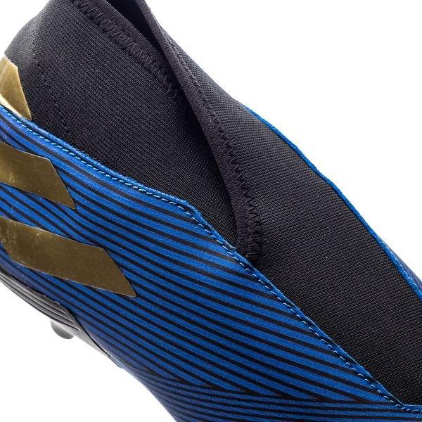 7e32d916 adidas Nemeziz 19.3 FG/AG Laceless Inner Game - Football Blue/Gold Metallic/Core  Black   www.unisportstore.com