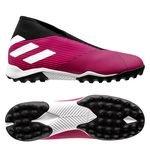 adidas Nemeziz Tango 19.3 TF Laceless Hard Wired - Rose/Blanc/Noir