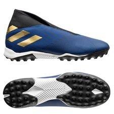 adidas Nemeziz Tango 19.3 TF Laceless Inner Game - Blå/Gull/Sort