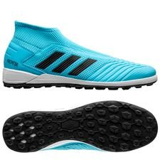 adidas Predator 19.3 TF Laceless Hard Wired - Turkis/Sort