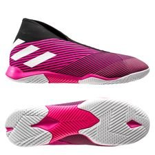 adidas Nemeziz Tango 19.3 IN Laceless Hard Wired - Pink/Hvid/Sort