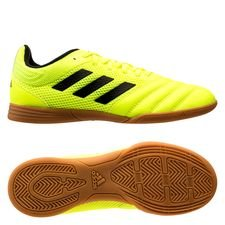 adidas Copa 19.3 IN Hard Wired - Gul/Svart Barn