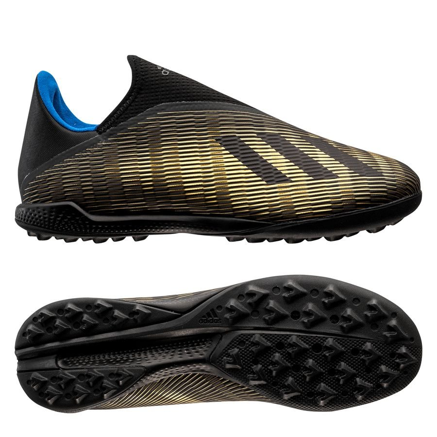 adidas X 19.3 TF Laceless Input Code - Core Black/Gold Metallic