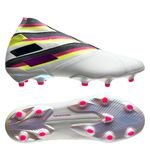 adidas Nemeziz 19+ FG/AG Polarize - Wit/Roze/Geel LIMITED EDITION