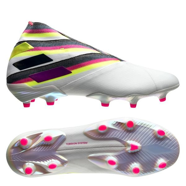 Adidas Nemeziz 19+ FG WhiteGoldWhite
