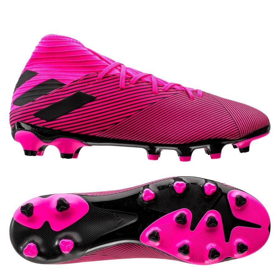 adidas Nemeziz 19.3 MG Hard Wired – Pink/Sort