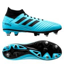 adidas Predator 19.3 SG Hard Wired - Turkis/Sort