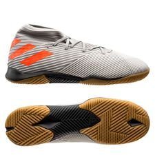 adidas Nemeziz 19.3 IN Encryption - Grå/Orange/Hvid