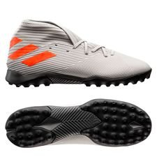 adidas Nemeziz 19.3 TF Encryption - Grå/Orange/Hvid
