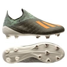 adidas X 19+ FG/AG Encryption - Vert/Orange/Blanc
