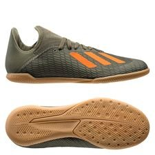 adidas X 19.3 IN Encryption - Grön/Orange/Vit Barn
