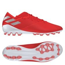 adidas Nemeziz 19.1 AG 302 Redirect - Action Red/Silver Metallic/Solar Red