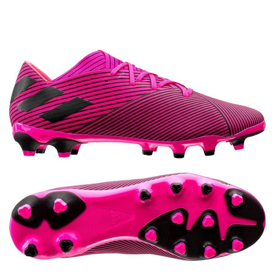 adidas Nemeziz 19.2 MG Hard Wired - Pink/Sort