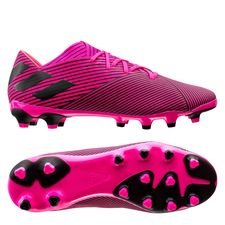 adidas Nemeziz 19.2 MG Hard Wired - Pink/Sort