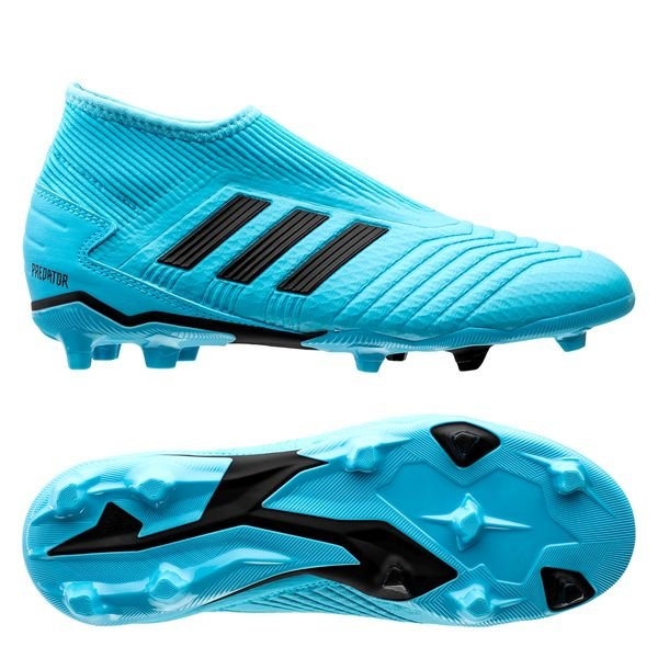 adidas Predator 19.3 FGAG Laceless Hard Wired Turquoise
