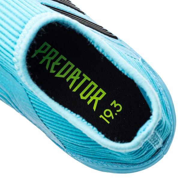 adidas Predator 19.3 FGAG Laceless Hard Wired TürkisSchwarz Kinder