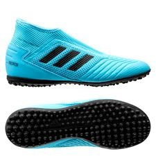 adidas Predator 19.3 TF Laceless Hard Wired - Turkos/Svart Barn