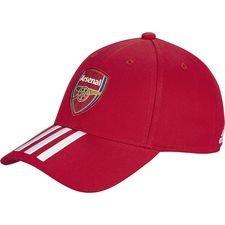 Arsenal Keps 3S - Röd/Vit