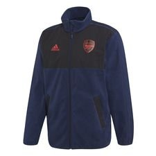 Arsenal Fleece Jacka Seasonal Special - Navy