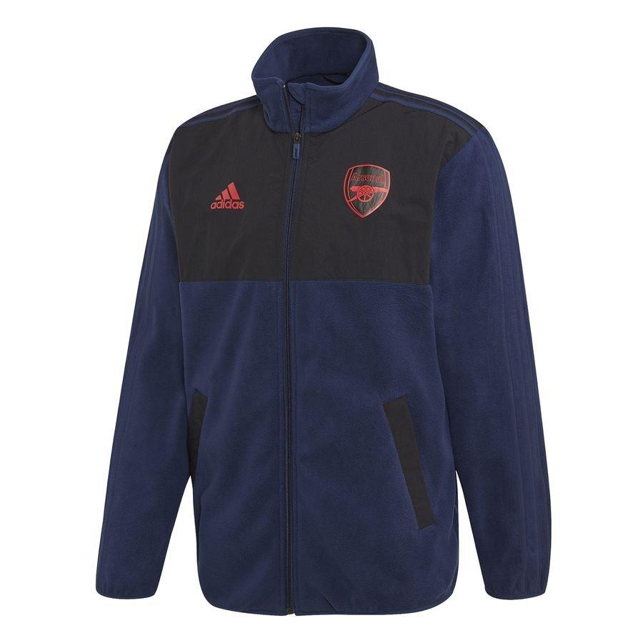 Arsenal Fleece Jakke Seasonal Special - Navy thumbnail