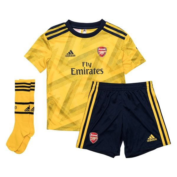 the latest 43c5a cebb7 Arsenal Away Shirt 2019/20 Mini-Kit Kids